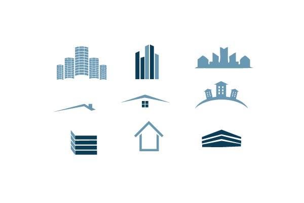 логотип здание: